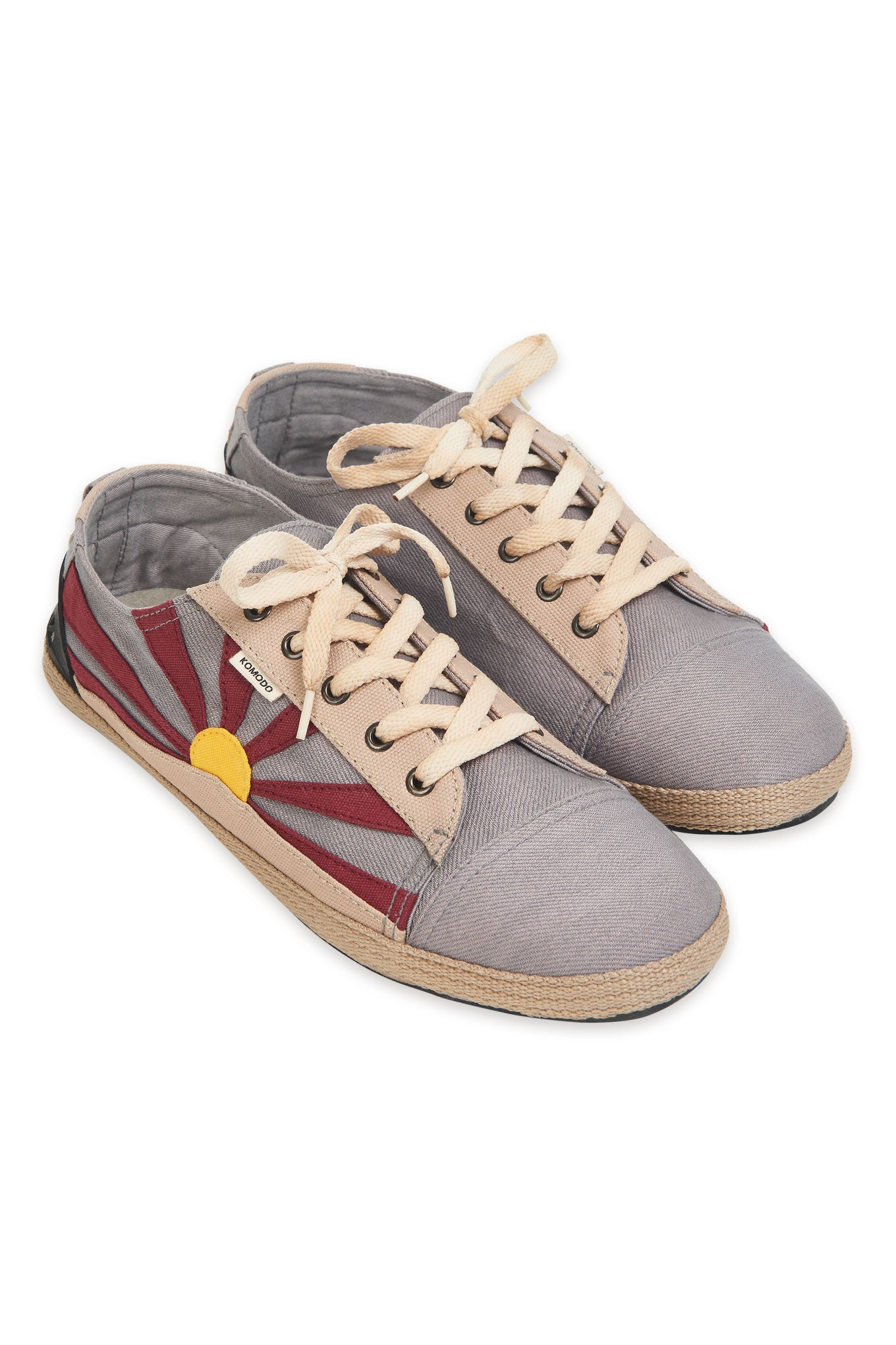 FREE TIBET Mens Shoe Grey