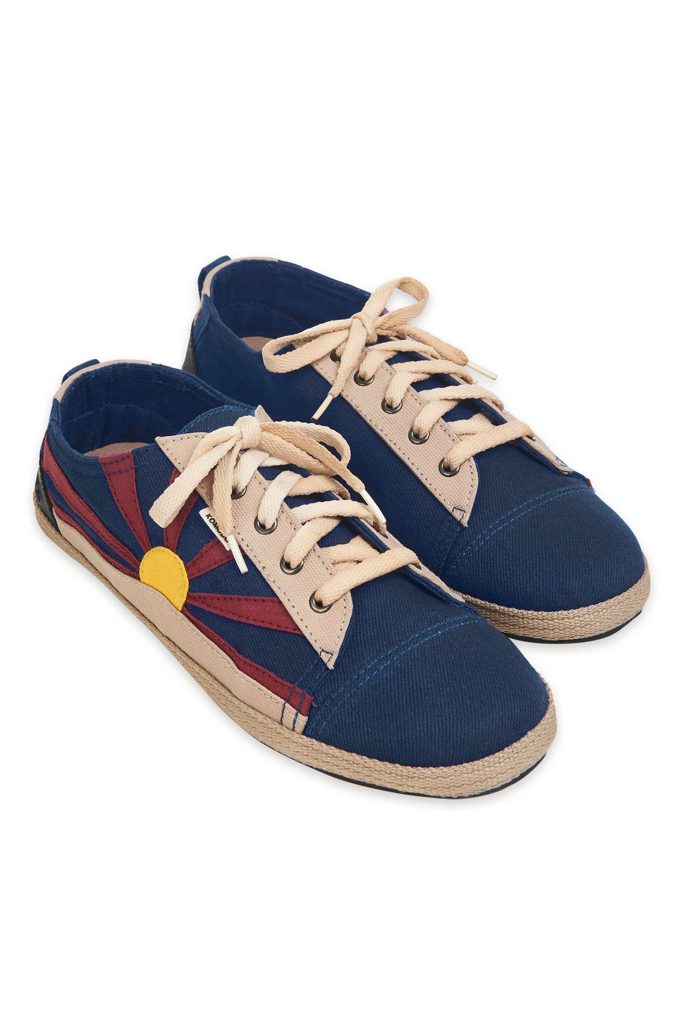 FREE TIBET Mens Shoe Navy