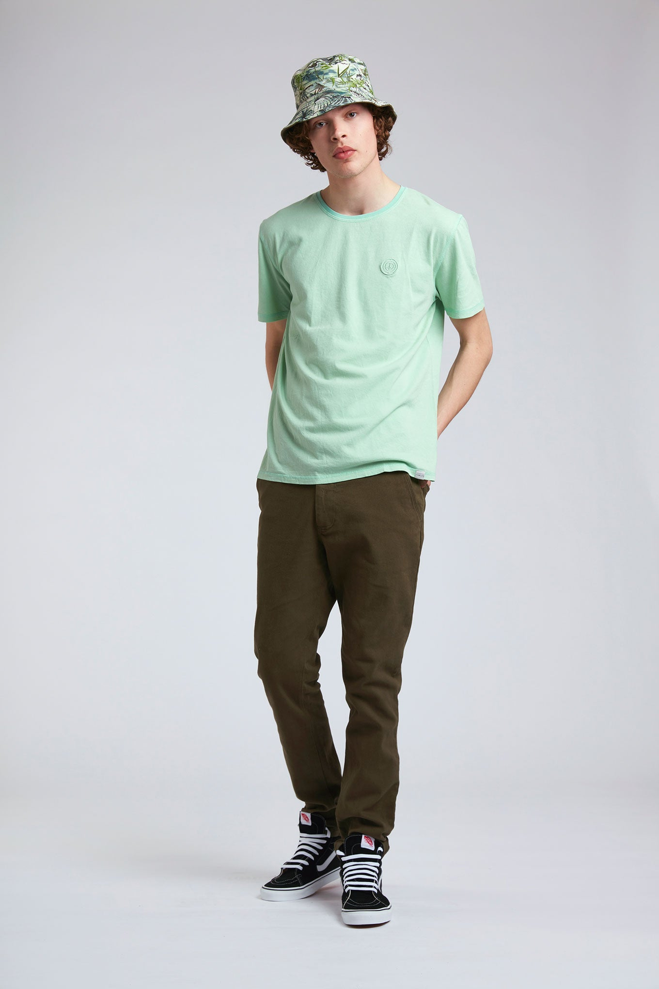 CARPENTER - Organic Cotton Trousers Khaki
