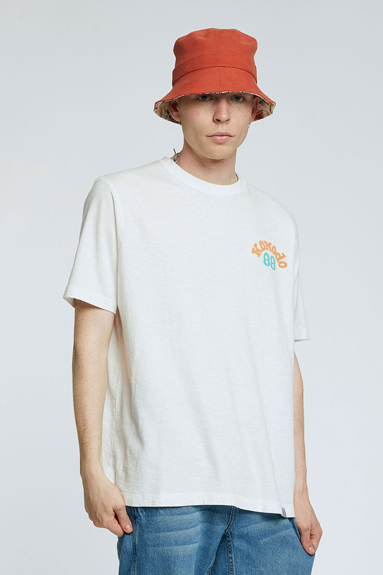 KIN - 88 - GOTS Organic Cotton Tee Off White