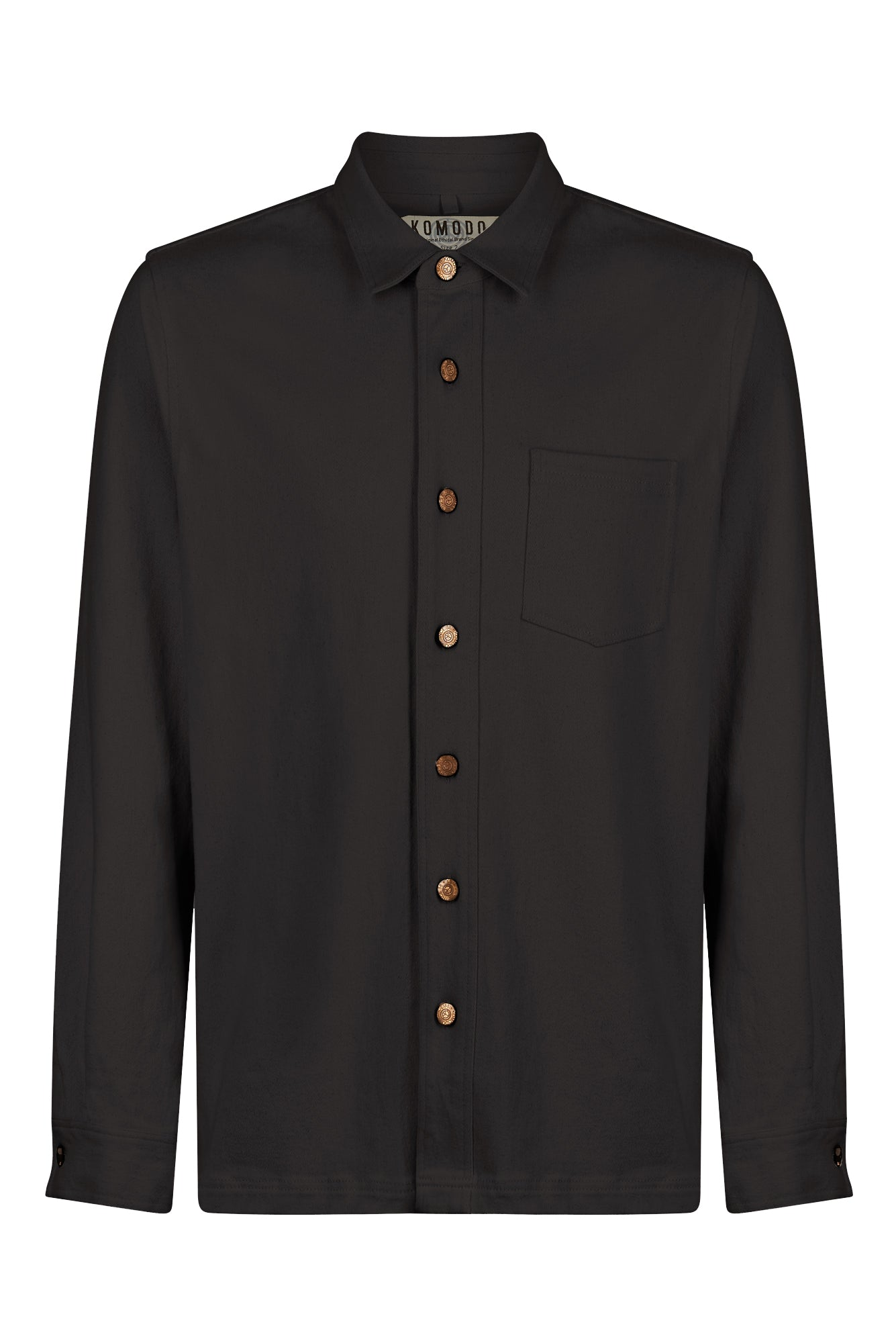 JEAN Organic Cotton Shirt Coal