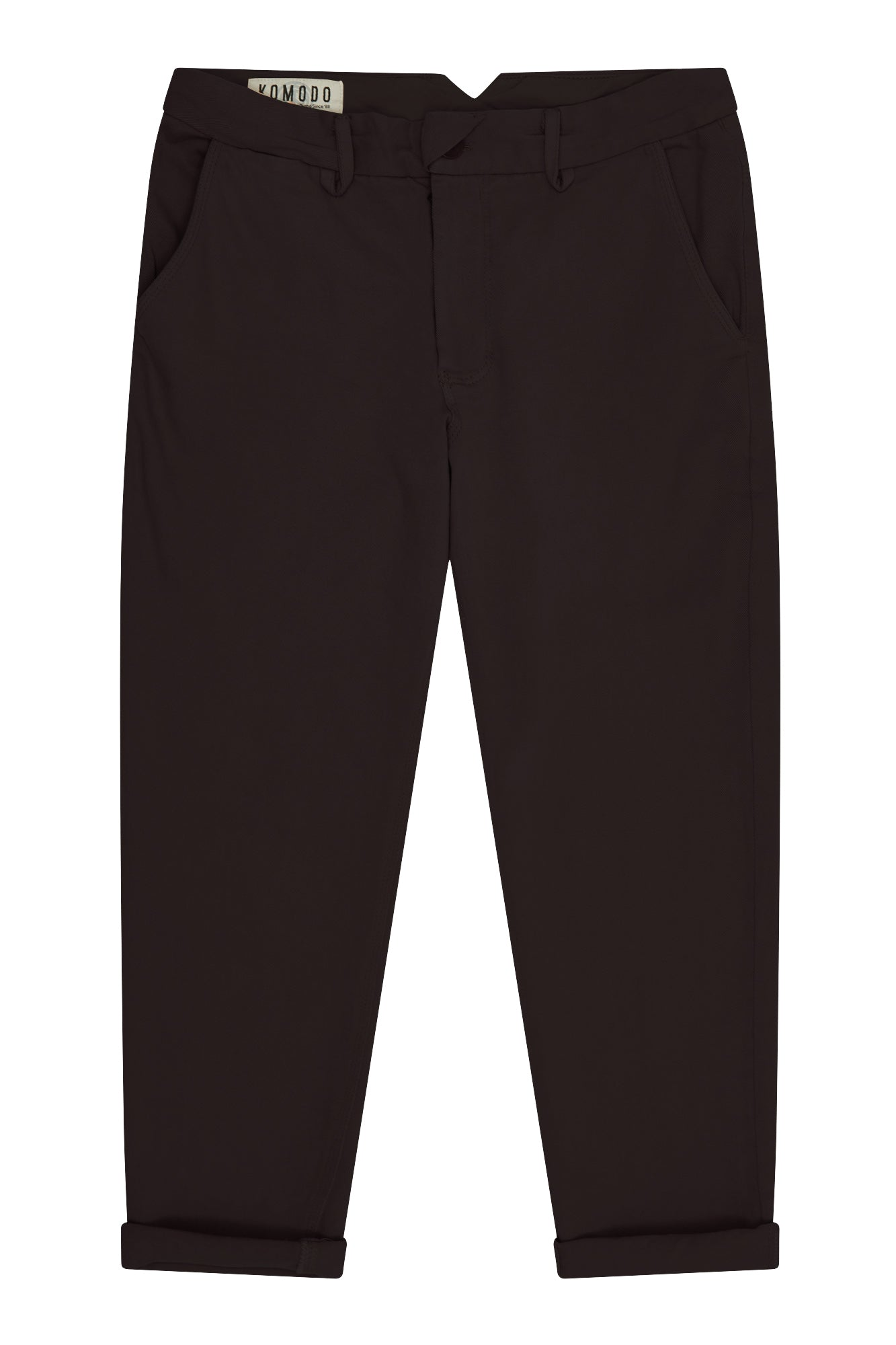 CARPENTER Organic Cotton Trousers Coal