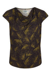 SENS Rayon Top Olive/Black