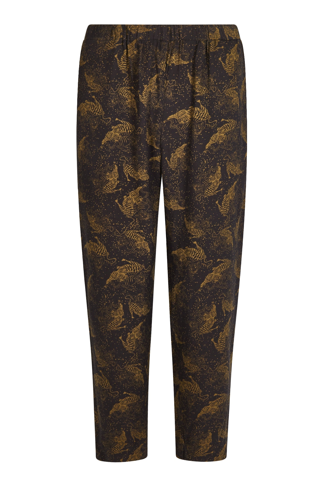 HIDDEN TIGER Rayon Rama Trousers Olive/Black