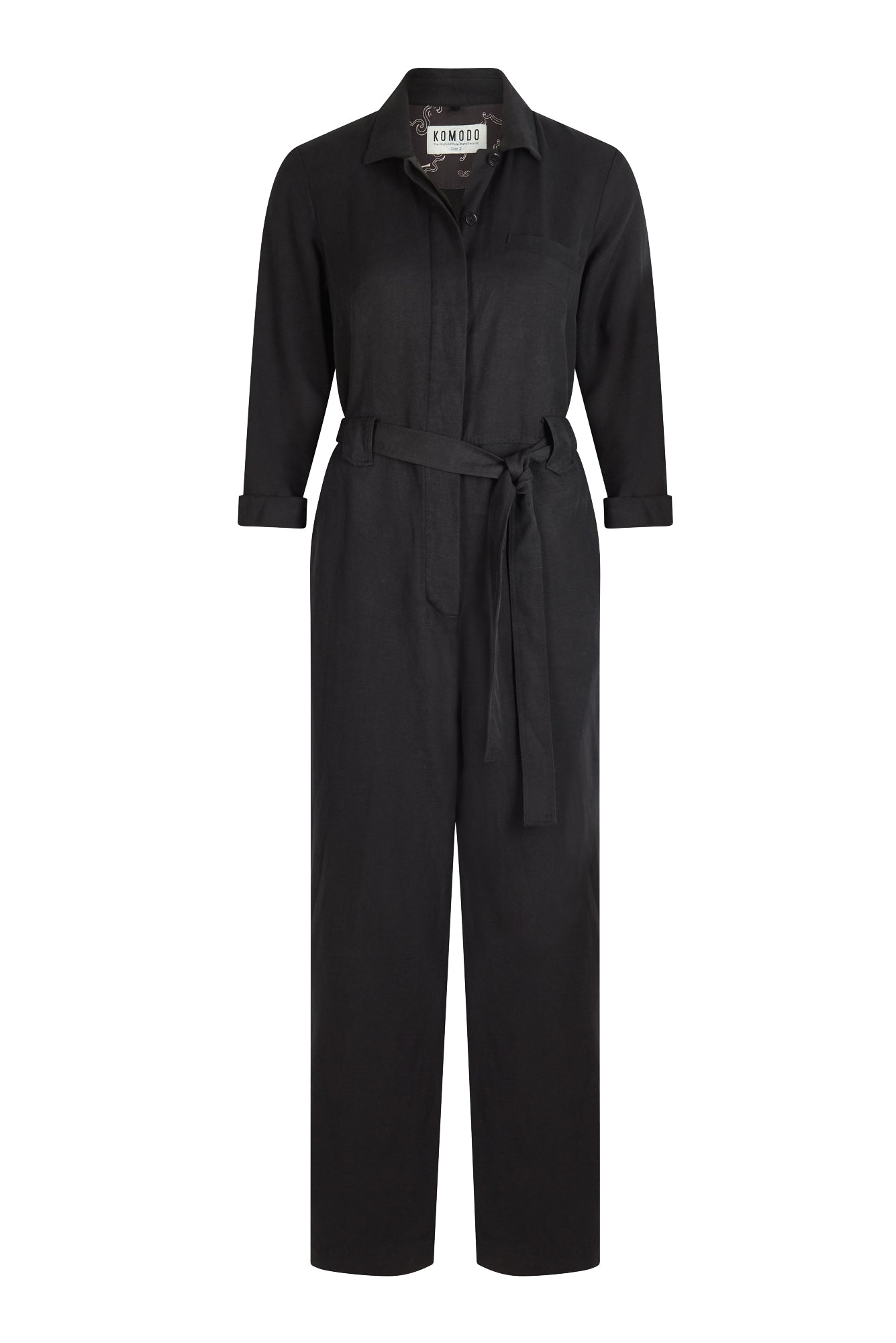 SHIVA Tencel Jumpsuit Coal