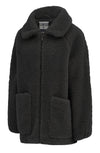SNOW RABBIT Fleece Jacket Black
