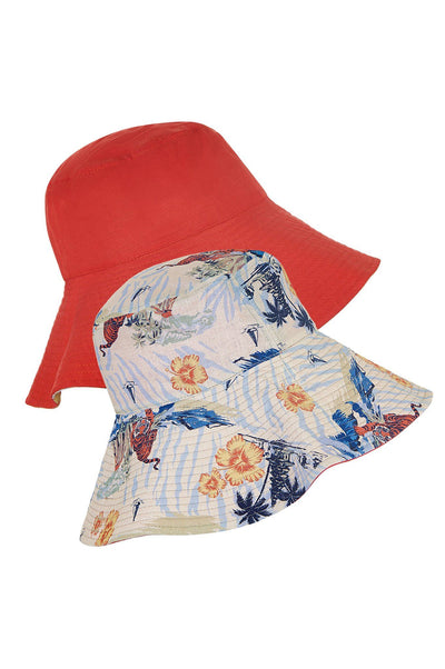 COCO REVERSIBLE Hat Bali Surf - Komodo Fashion