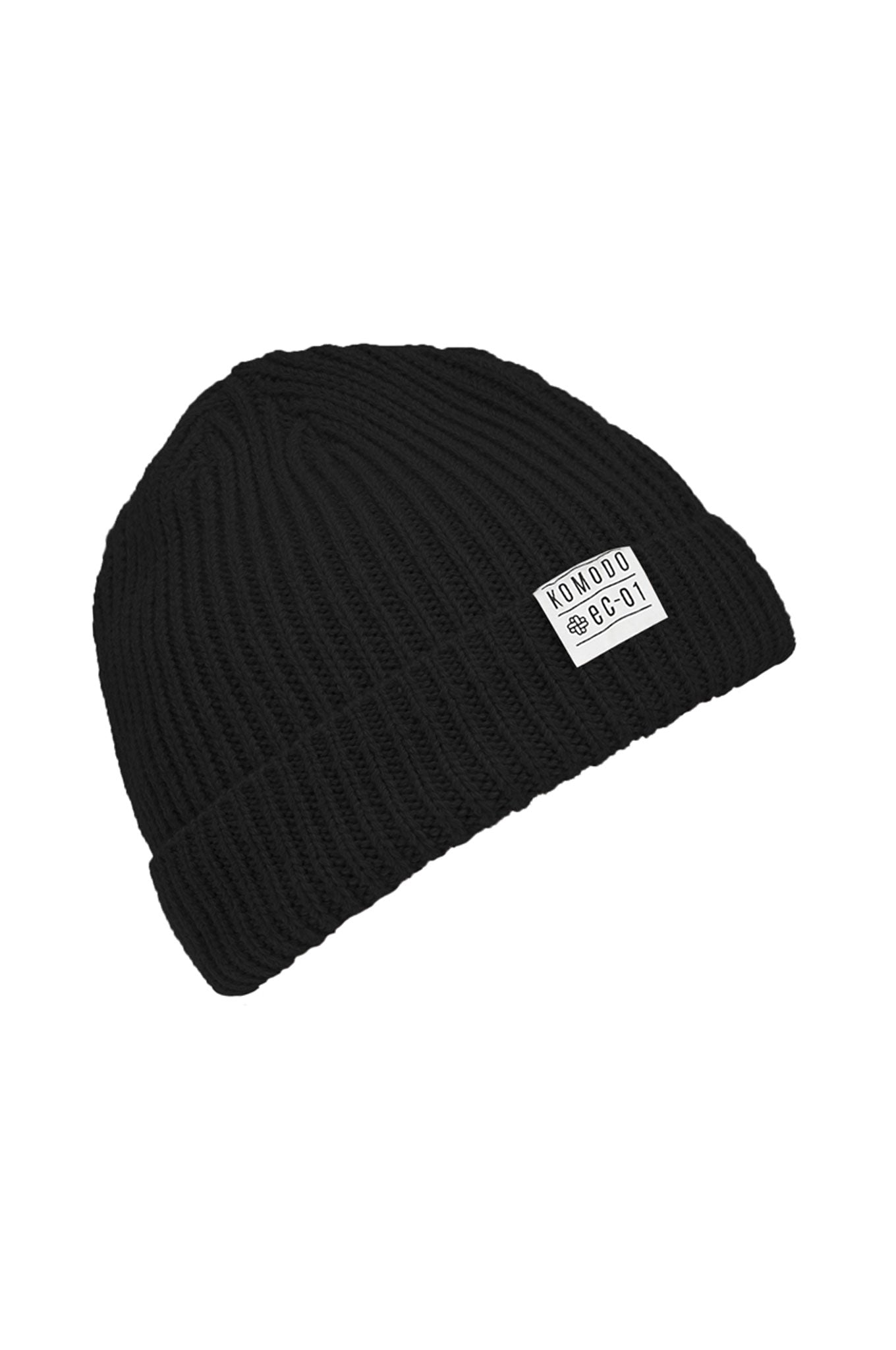 CHRISTOPHE Unisex Merino Hat Black