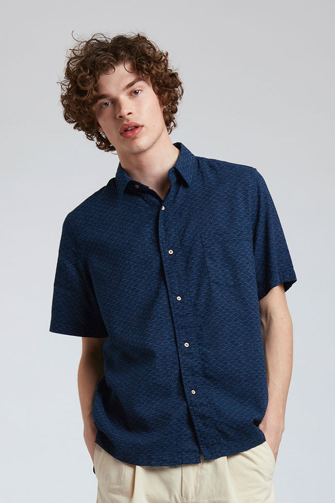 DINGWALLS - Organic Cotton Shirt Indigo