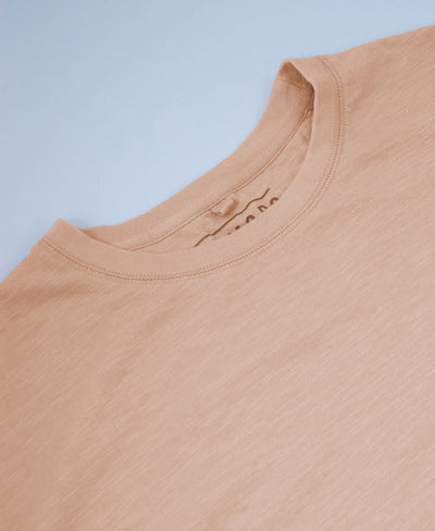 KIN - GOTS Organic Cotton Tee Peach