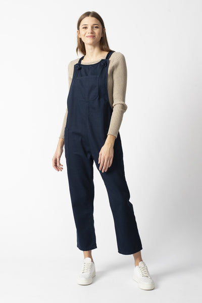 DUNGAREES navy organic cotton Jeans by UCM - Komodo Fashion