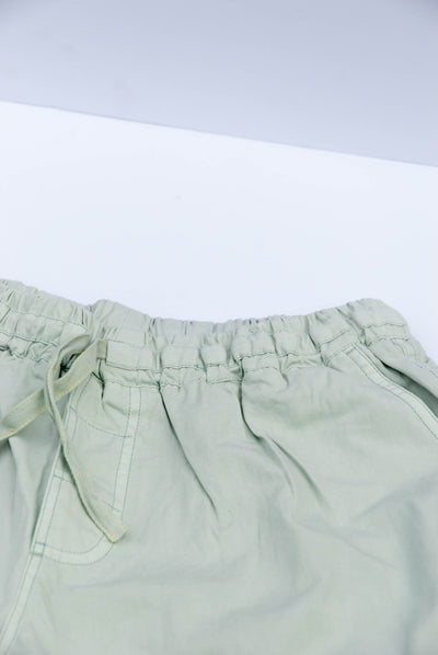 DANNY Organic Cotton Trousers Mineral Green - Komodo Fashion