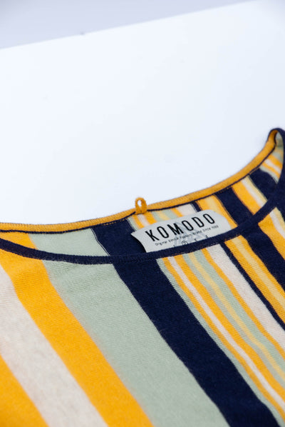 FAA Organic Linen Top Stripes - Komodo Fashion