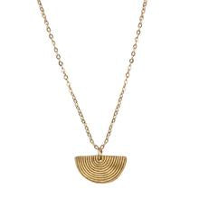 Freya Necklace Gold by Daughters of the Ganges