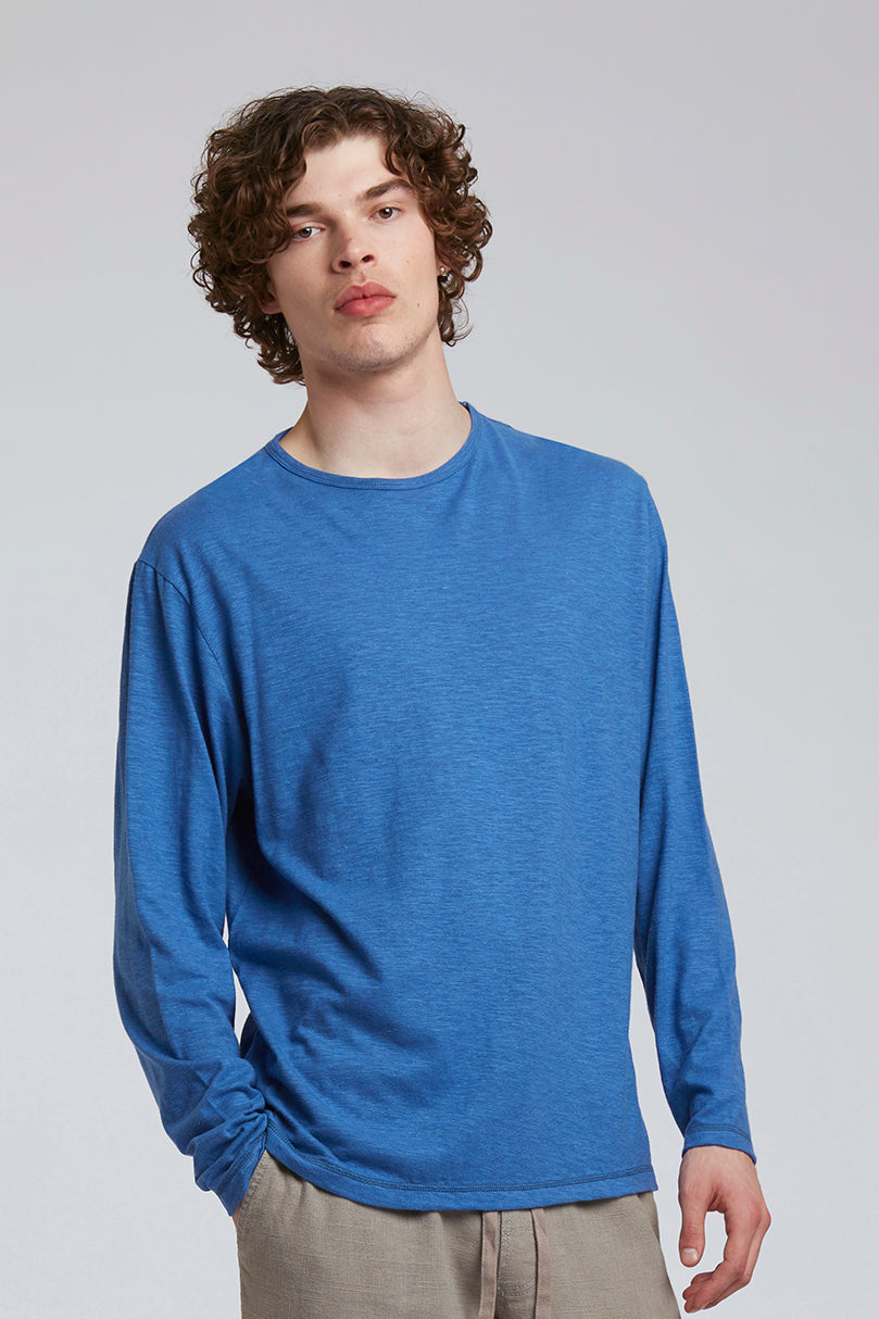 HAKON Hemp Tee Dutch Blue