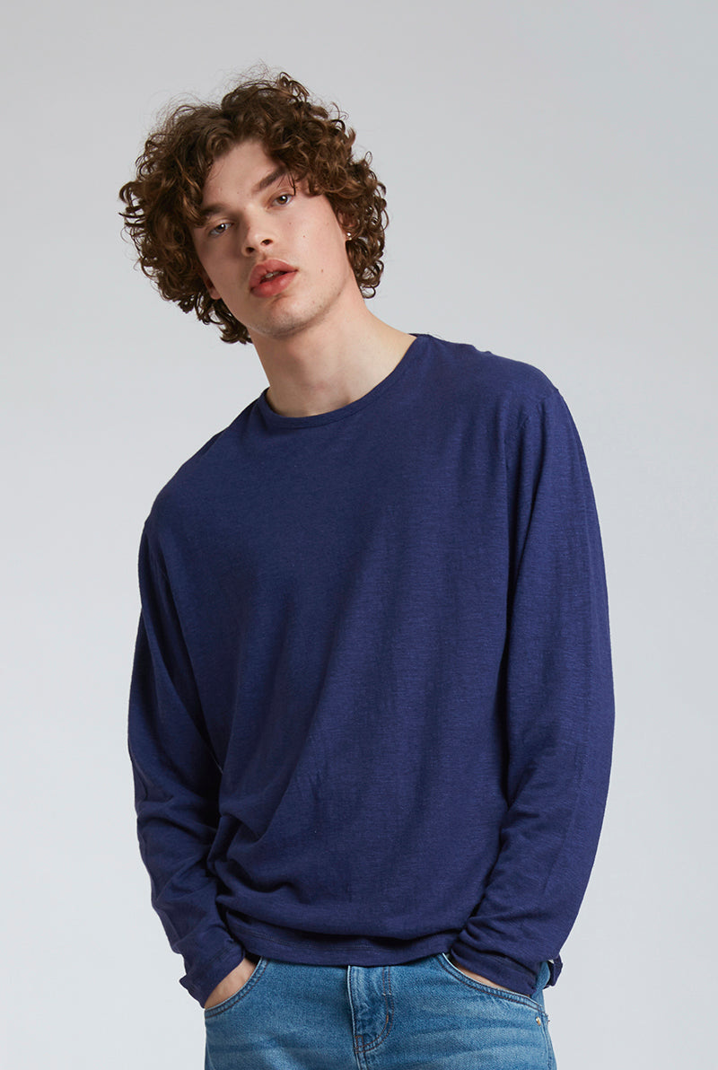 HAKON Hemp Tee Navy