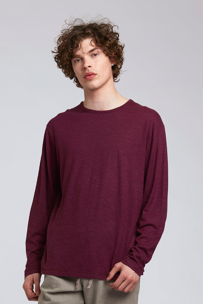 HAKON Hemp Tee Wine