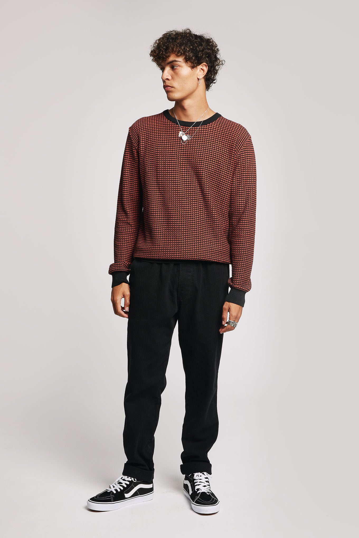 HASAN - GOTS Organic Cotton Jumper Pepper