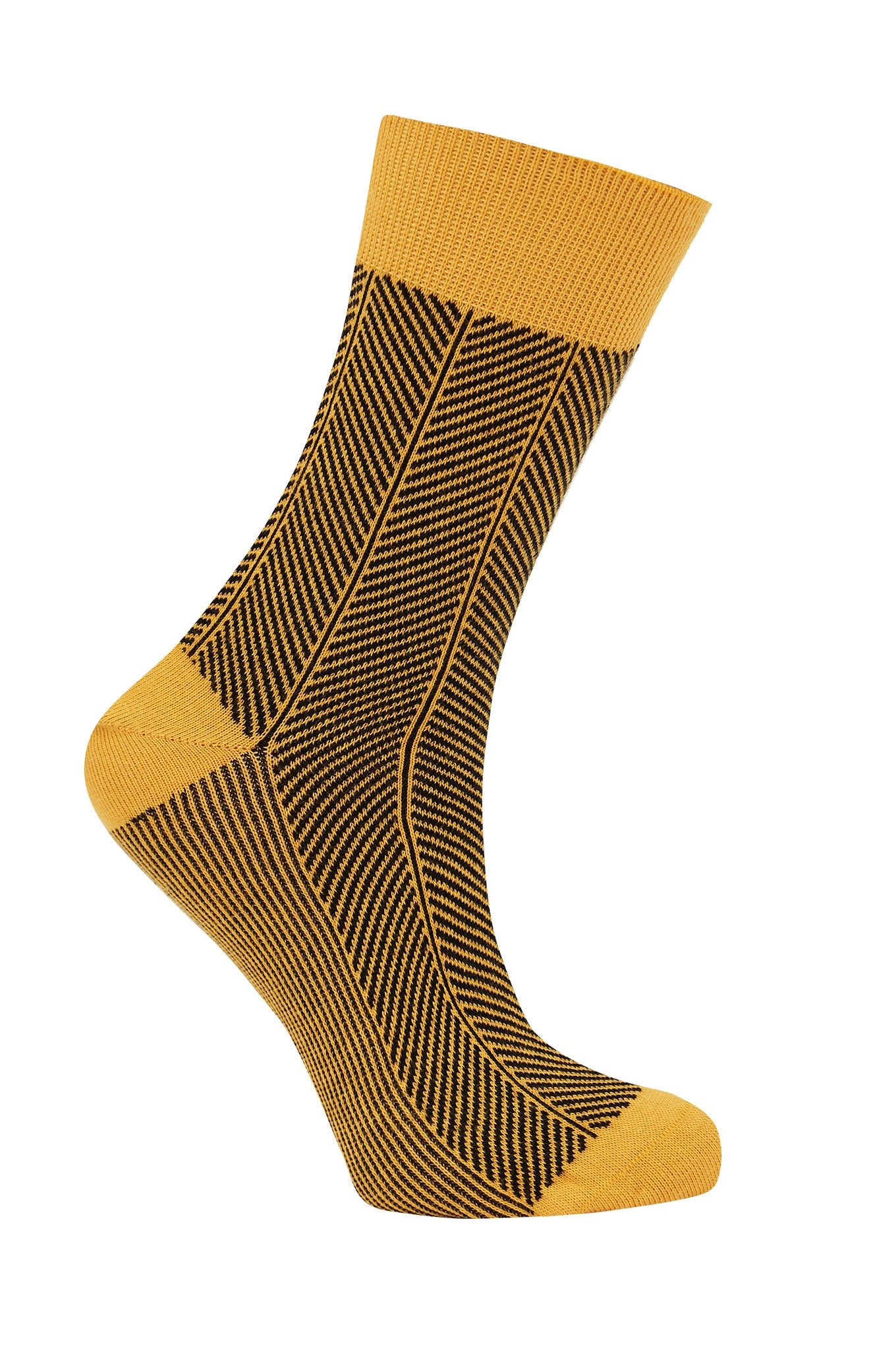 HERRINGBONE Gold - GOTS Organic Cotton Socks