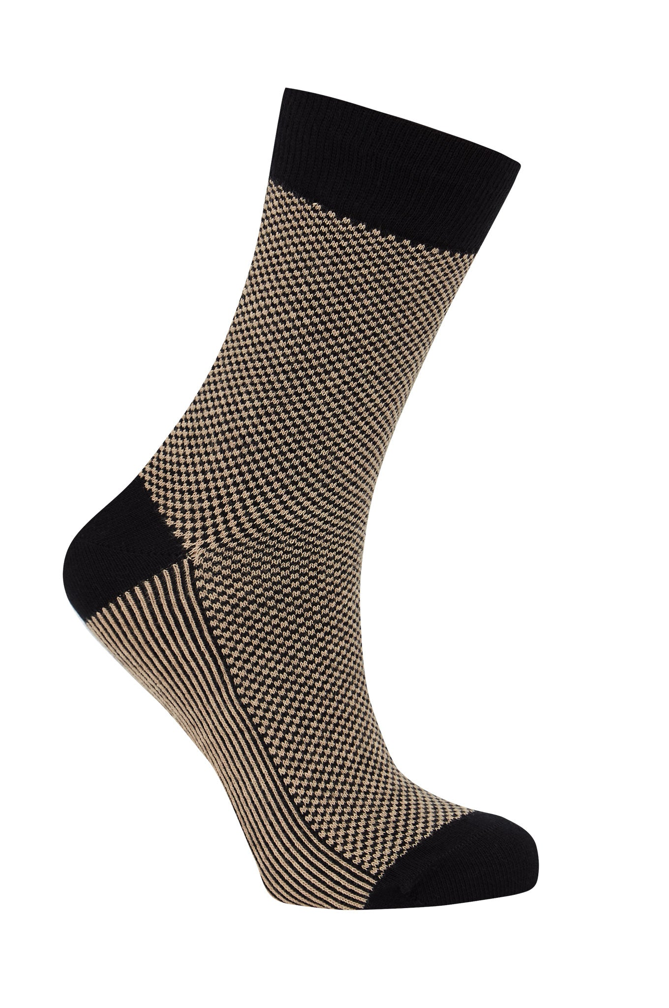 DOTS Black - GOTS Organic Cotton Socks