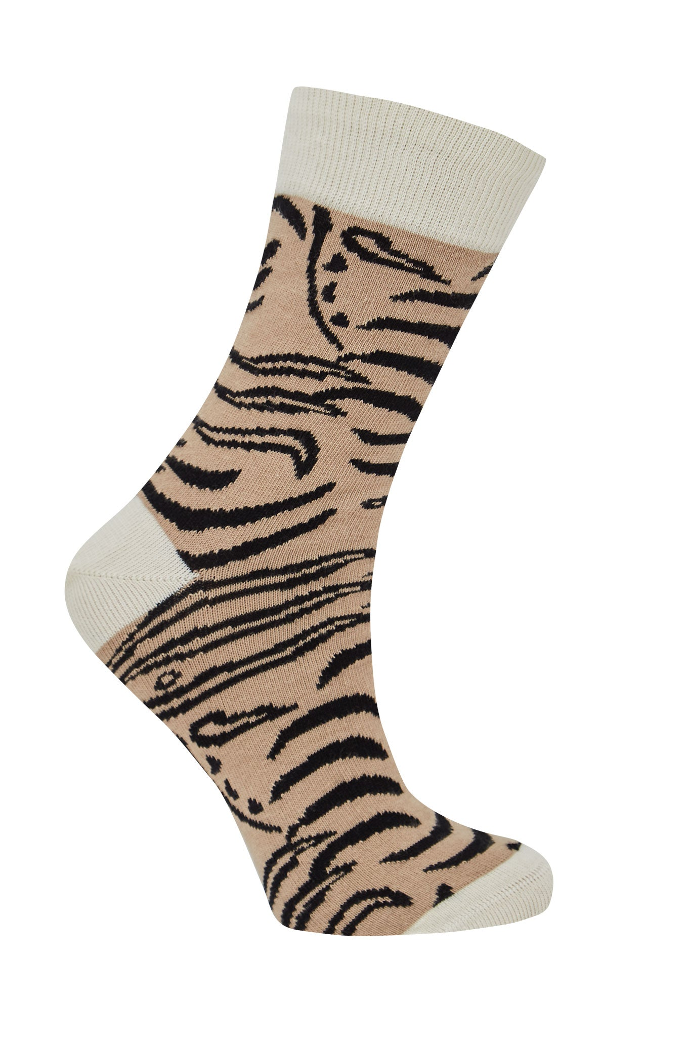 TIGER Sand - GOTS Organic Cotton Socks