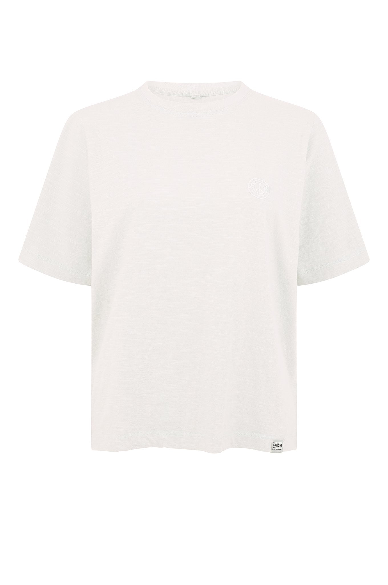 INGA Organic Cotton Tee Off-White