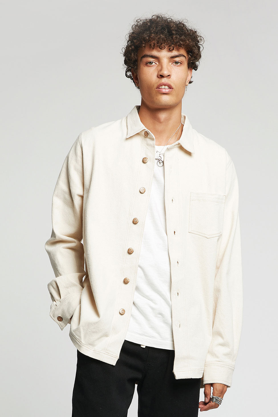 JEAN Organic Cotton Shirt Warm Sand