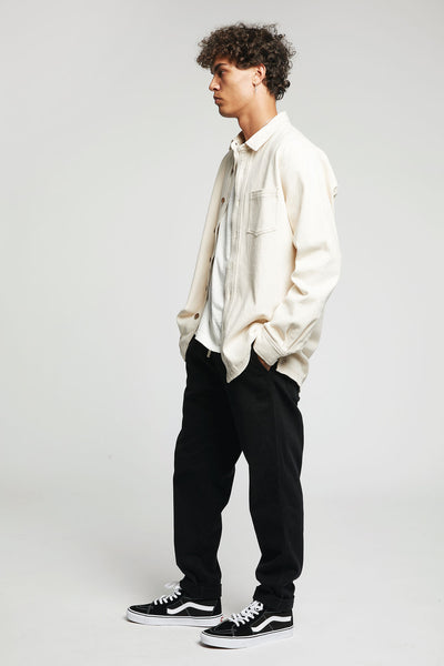 AUGUST Organic Cotton Trousers Coal