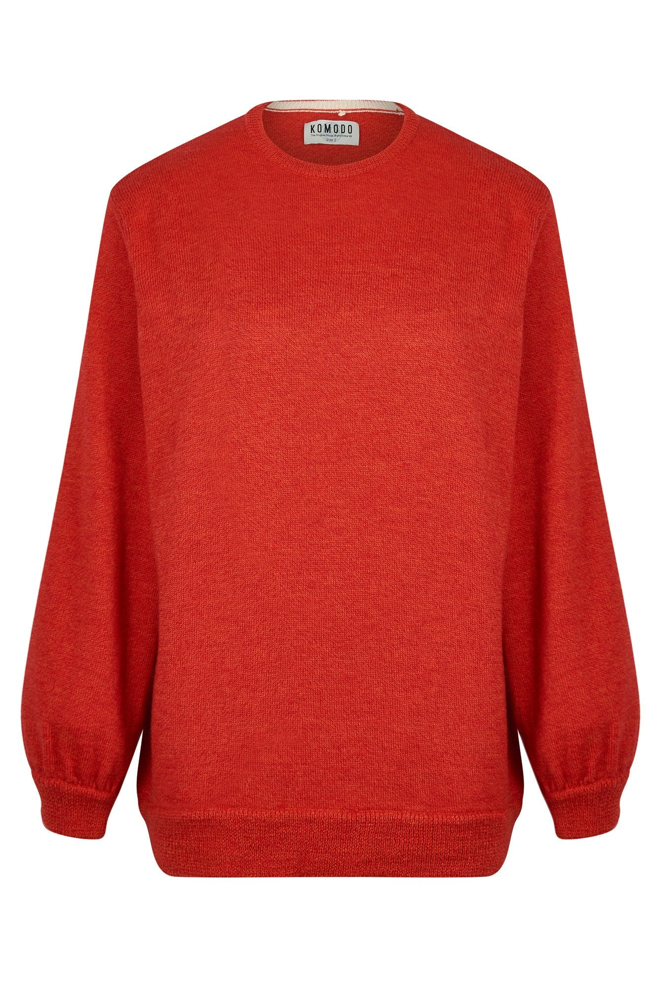 TYLA Merino Jumper Koi Red