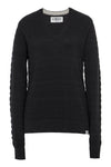 MANANA - GOTS Organic Cotton Jumper Black