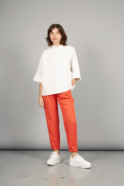 LILA Tencel Linen Trousers Spice - Komodo Fashion