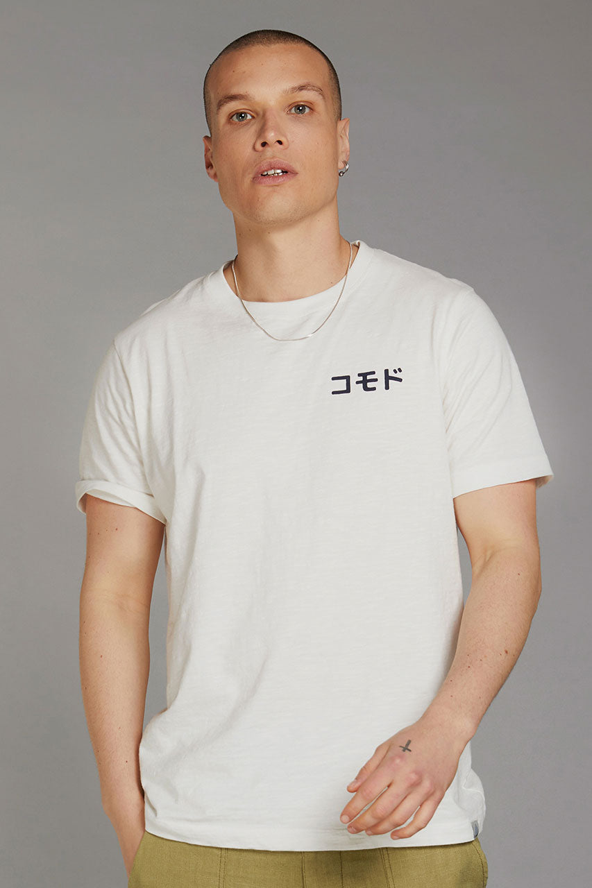 KIN SK8 TEAM JAPAN - GOTS Organic Cotton Tee
