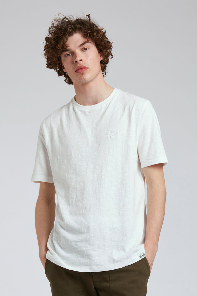 KIN - GOTS Organic Cotton Tee Off White