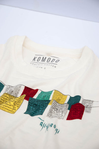 KIN TIBET Organic Cotton Tee - Komodo Fashion