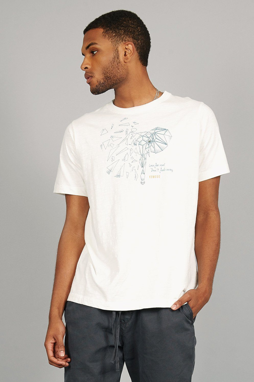 KIN ELEPHANT Organic Cotton Tee - Komodo Fashion