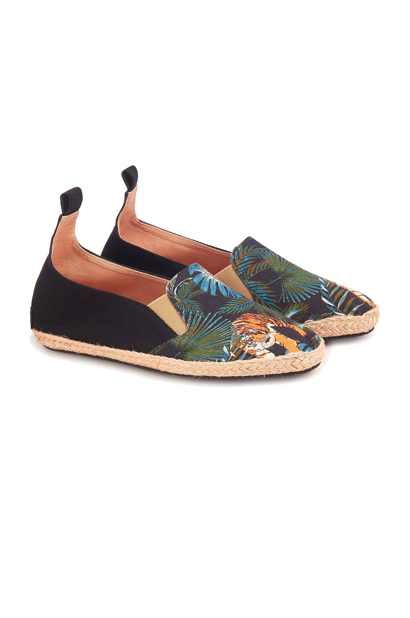 KUNG FU Black/SOS Womens Shoes - Komodo Fashion