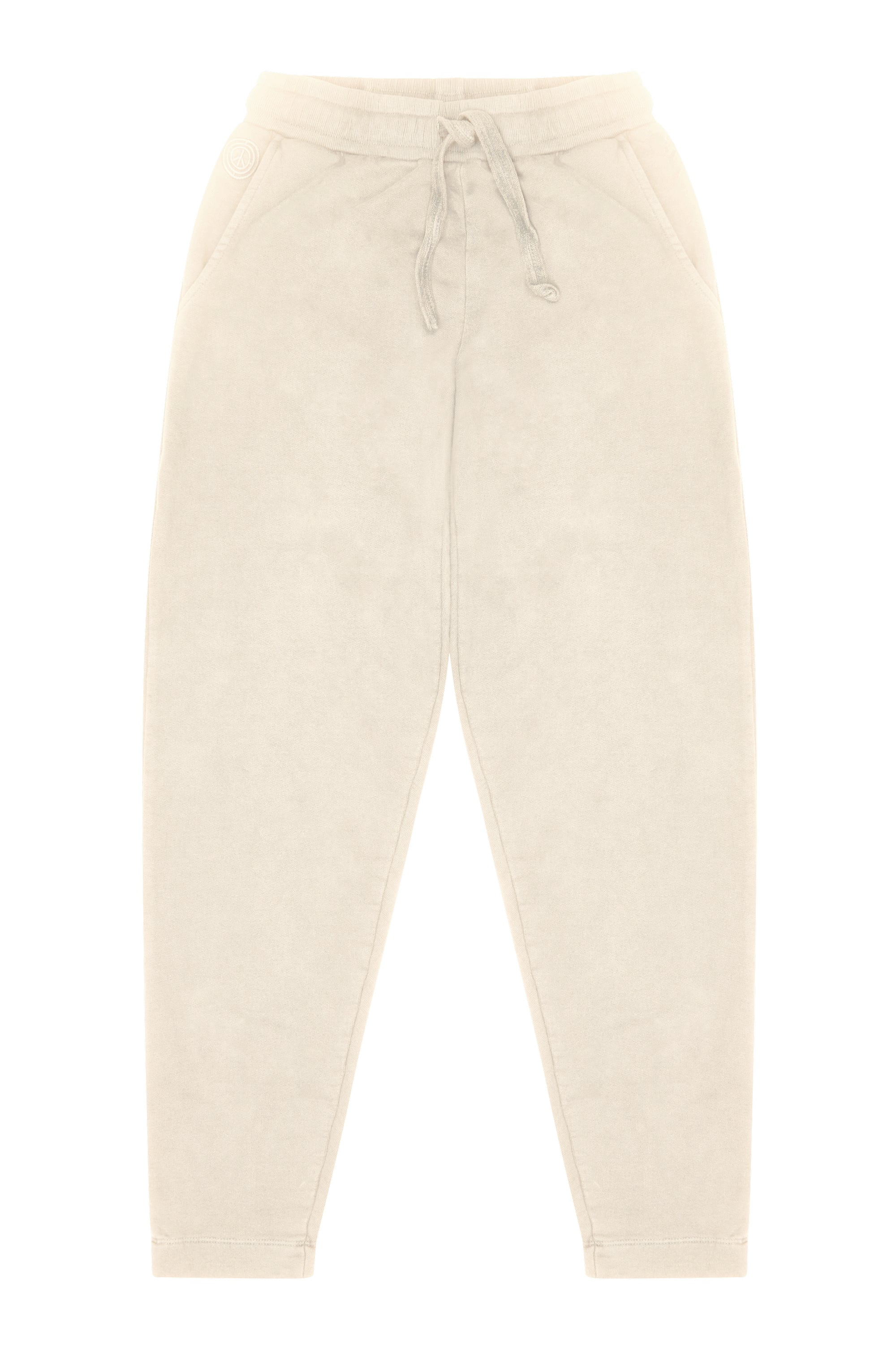 LEA Organic Cotton Trackpants Off White