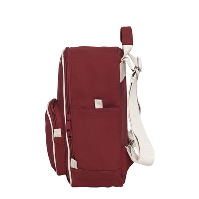 Backpack MELA II Mini Burgundy Red - Komodo Fashion