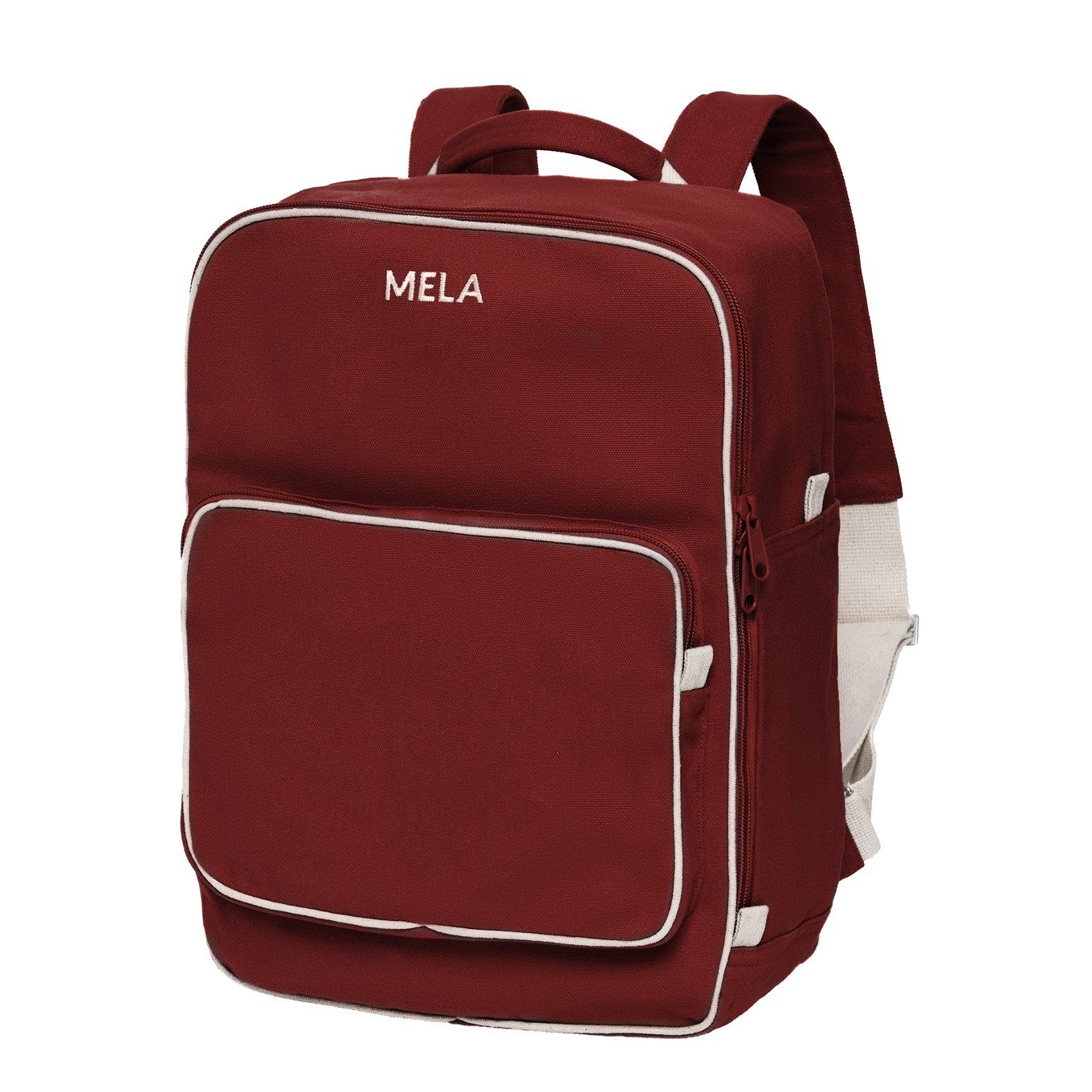 Backpack MELA II Burgundy Red - Komodo Fashion