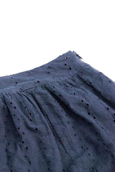 PARKLIFE Organic Cotton Skirt Ink - Komodo Fashion