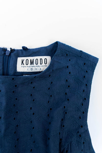 PRIMROSE Organic Cotton Dress Ink - Komodo Fashion