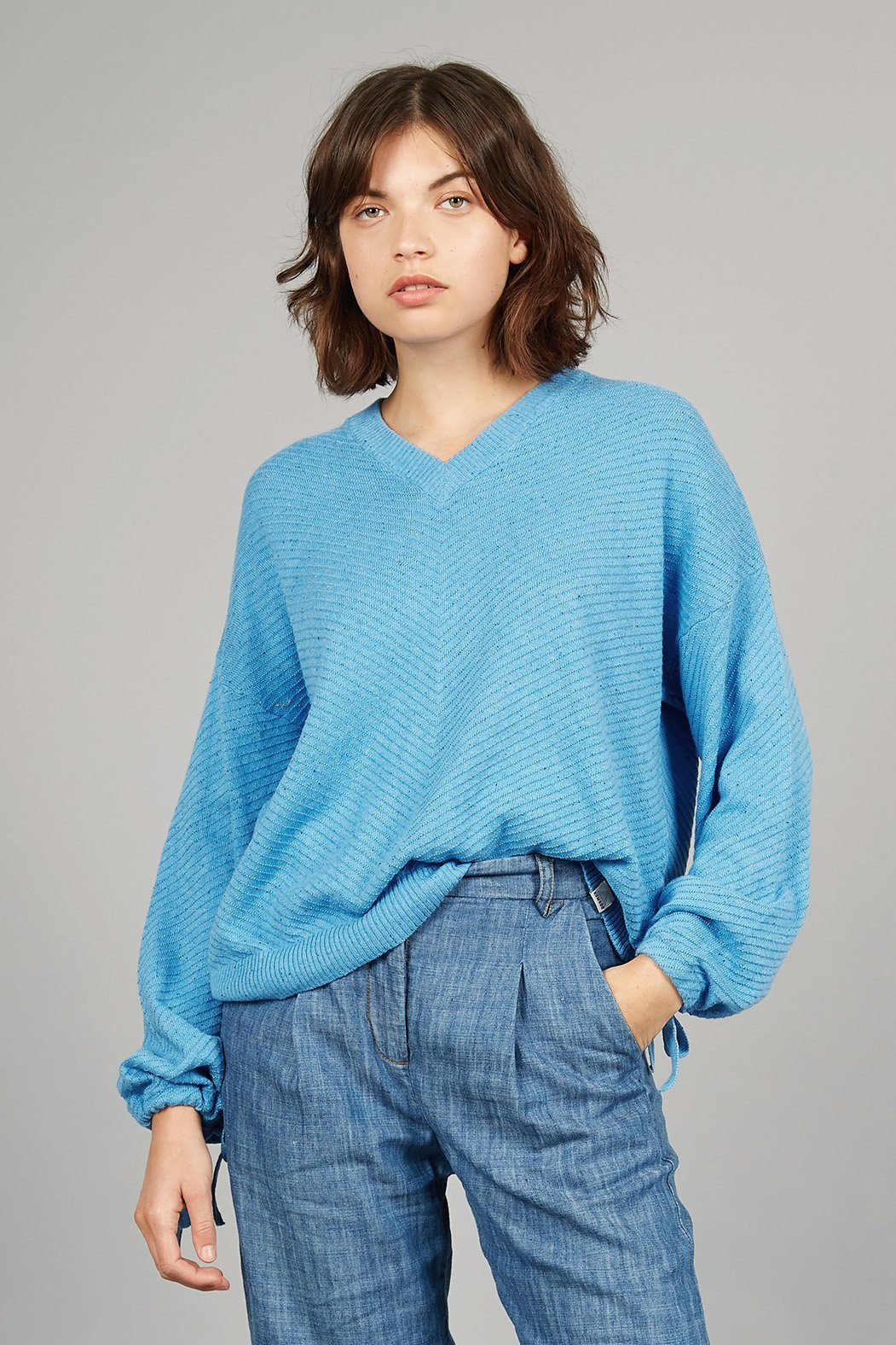 ROMA Organic Cotton Jumper Ocean - Komodo Fashion