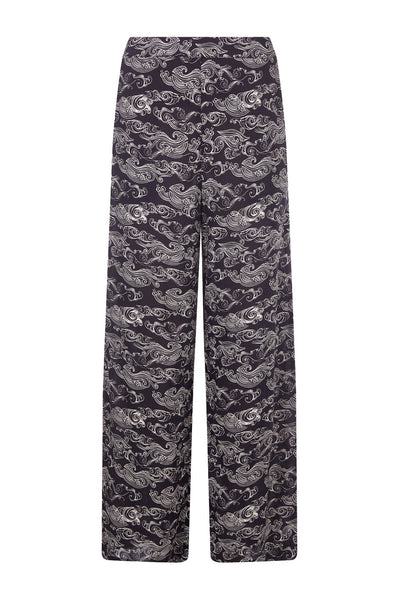 ROAR Rayon Trousers Uluwatu Black - Komodo Fashion