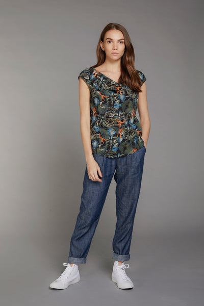 SENS Rayon Top SOS Print - Komodo Fashion