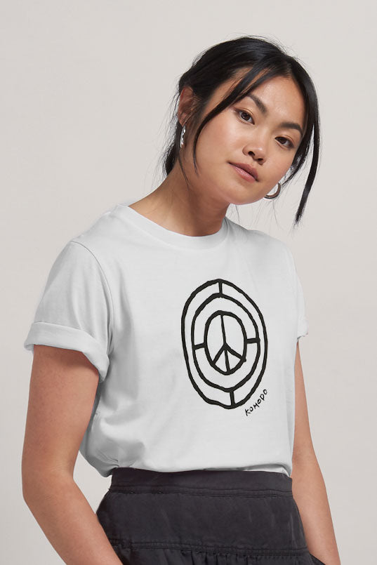 SIGN OF THE TIMES - GOTS Organic Cotton Tee Off White