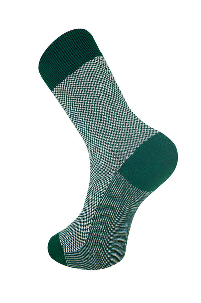 DOTS Emerald Organic Cotton Socks