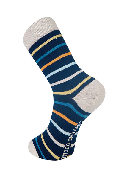 STRIPES Ink Organic Cotton Socks
