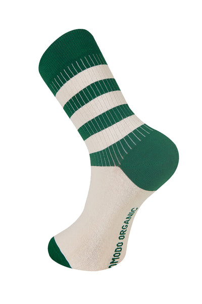 BRETON Emerald Organic Cotton Socks