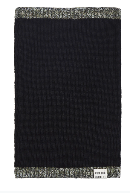 IMOGEN Merino Colar Snood Black