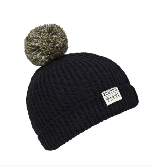 SHOLA Merino Hat Black